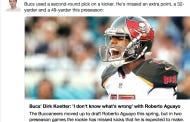 Tampa Bay Buccaneer Fans Are Now Heckling Their 2nd Round Pick Kicker Roberto Aguayo