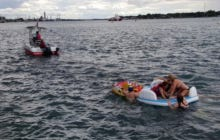 A Bunch Of Drunk Americans Illegally Washed Up Onto The Canadian Border After Their River Float Party Got Blown Off Course