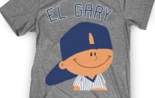 El Gary Went Deep Twice So He Got His Own Shirt