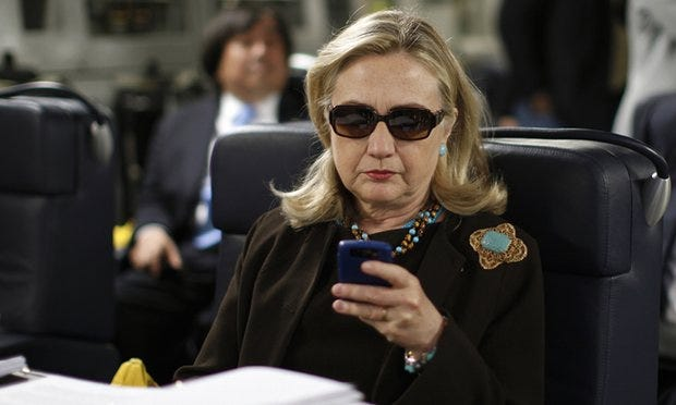 Nobody Hates Work Emails More Than Hillary Clinton Hates Work Emails
