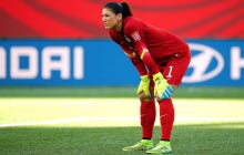 "U.S. Soccer Suspended And Then Terminated The Contract Of Hope Solo For Calling Sweden's Women's Soccer Team ""A Bunch Of Cowards"""