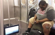 Bringing An XBox And A TV On The Subway Is Baller As Fuck