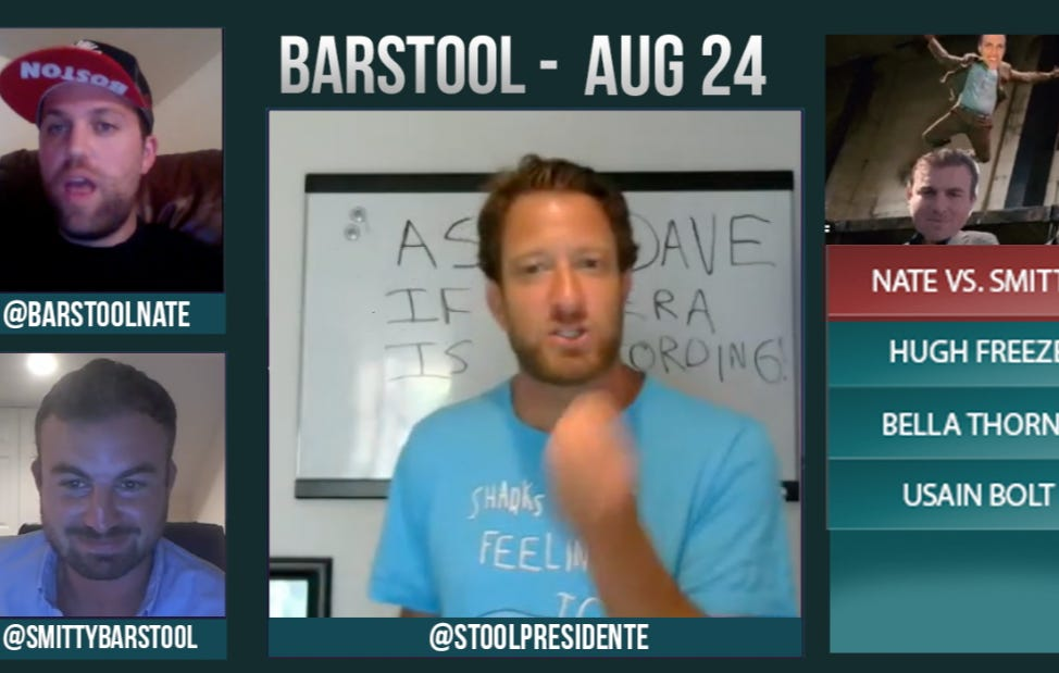 Barstool Rundown August 24, 2016
