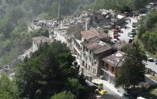 Stunning Images From Italy's 6.2-Magnitude Earthquake; At Least 120 Dead