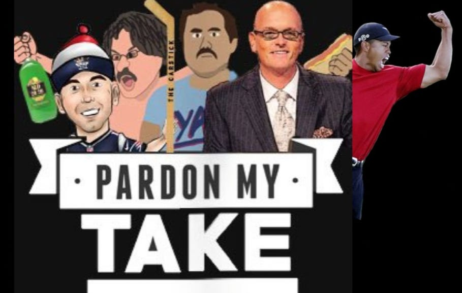 Pardon My Take 8-24 With Scott Van Pelt And Tiger Woods