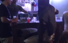 Nothing To See Here Other Than Joel Embiid Crushing Shirley Temples At A College Bar Back In Kansas