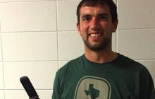 Andrew Luck Finally Got A New Cell Phone! Wait, It's Another Flip Phone. LOL!