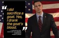 Libertarian U.S. Senate Candidate Augustus Sol Invictus Talks About Drinking Goat's Blood