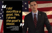 Libertarian U.S. Senate Candidate Augustus Sol Invictus Talks About Drinking Goat's Blood
