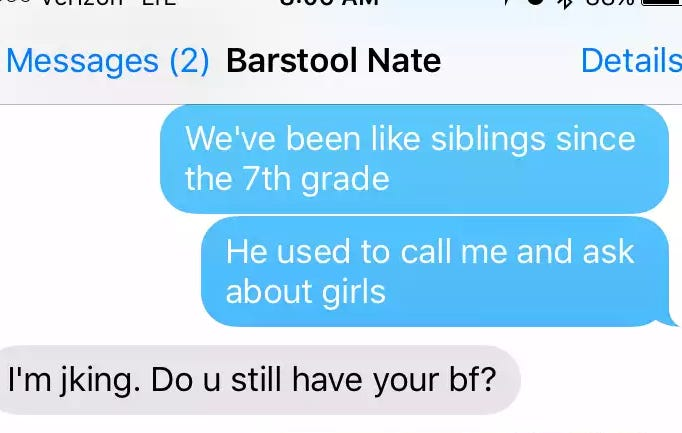 I Would Like To Address These Allegations Of Barstool Girl Hoarding