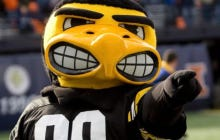 A University Of Iowa Professor Thinks Herky The Hawk Should Smile More So It's More Welcoming To Students