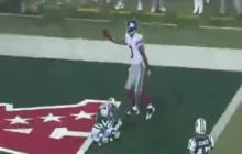 Wake Up With Victor Cruz's Coming Out Party Vs. The Jets During The 2010 Preseason
