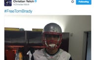 Christian Yellich's Got Some Big, Brass Ones To Drop A #FreeTomBrady Tweet From The Miami Marlins Locker Room