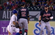 Jason Kipnis Prepared Himself For A Face Punch After A Rougned Odor Takeout Slide