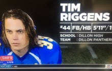 """I Want Someone From """"Good Morning Football"""" Fired For This Disgusting Tim Riggins Graphic"""