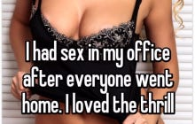 Scandalous Girls Who Have Sex At The Office
