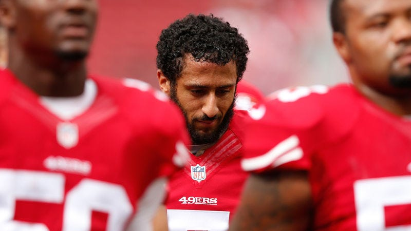 Colin Kaepernick Refused to Stand During The Anthem and That's Ok