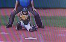 South Korean Catcher With An ALL TIME Frame Job In The Little League World Series