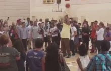 Stevie Wonder Shooting A Free Throw Will Make You Think Twice About Him Not Really Being Blind