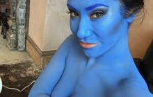 Eva Lovia Is Dressing Up As Aayla Secura Right Now, Are We Doing Nerd Boners?