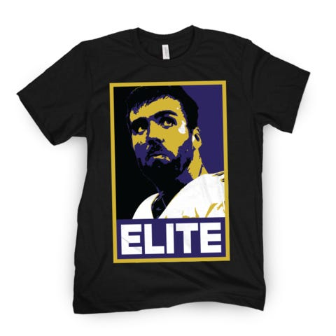 1. Buy A Joe Flacco Elite T-Shirt 2. Get Ownership Stake In A Gambling Fish 3. Retire To A Life Of Style And Wealth
