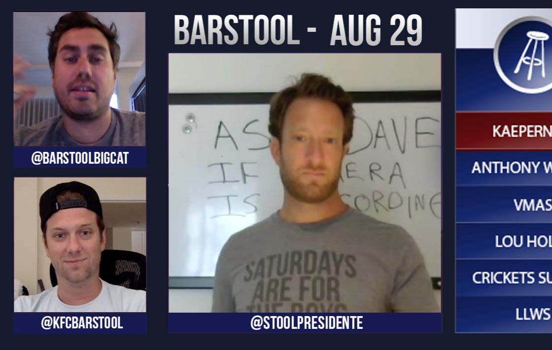 Barstool Rundown – August 29, 2016