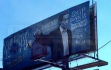 FS1 Trolled ESPN By Putting Up Skip Bayless Billboards All Over Bristol
