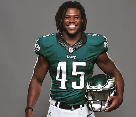 Eagles Undrafted Rookie Linebacker Tells ESPN He Will Be Sitting During The National Anthem During Thursday's Preseason Game