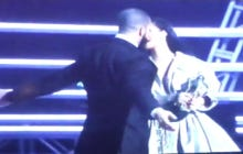 Drake Proved Last Night That Going In For A Kiss When A Kiss Isn't Guaranteed Is The Most Dangerous Game In The World