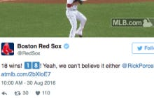 Red Sox Twitter Give Rick Porcello The Ultimate Backhanded Compliment After His 18th Win