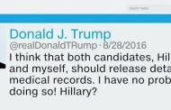 """How About CNN Straight Up Omitting """"Crooked"""" In Report On A Trump """"Crooked Hillary"""" Tweet?"""