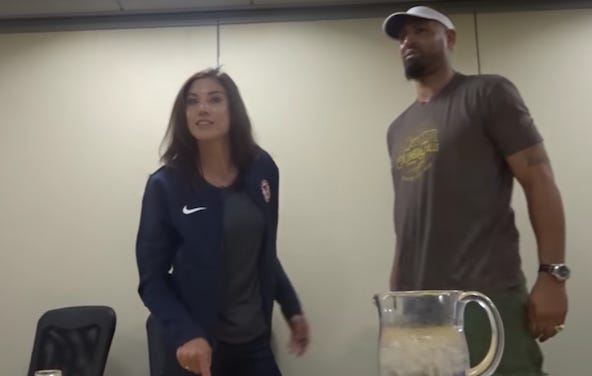 A Documentary Filming Hope Solo Captured The Moment That She Found Out Her U.S. Soccer Contract Was Terminated