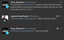 Tony Stewart Weighed In On The Colin Kaepernick Situation And Promptly Got Stuffed Into A Locker