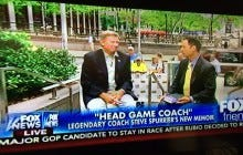 Fox News Disrespects The Head Ball Coach, Proves To Be An Untrusted News Source
