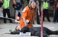 British Man Re-Enacts Killing Indonesian Police Officer On Bali Beach