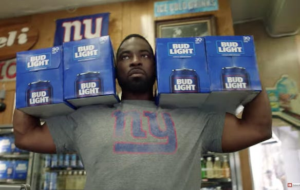 The new bud light team cans commercial just got me hyped for the nfl post thumbnail 618824 aloadofball Choice Image