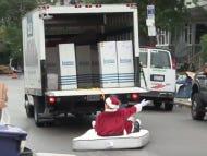 Santa Does Allston Christmas Presented By Leesa Mattresses