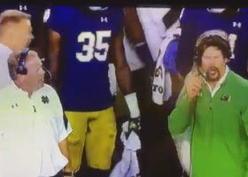 Notre Dame Defensive Coordinator, Brian VanGorder, Officially On Hot Seat Per Brian Kelly's Twitter