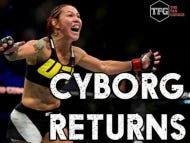 Cris Cyborg Has To Cut From 165 To 141 By Friday Morning To Make Weight