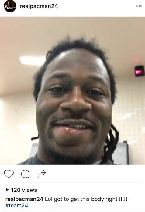 Pacman Jones Packs Missile Dips While Getting His Body Right Pacman Jo...