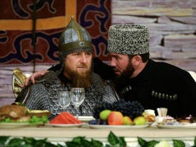 A Putin Ally Won 98% Of The Vote And Celebrated In A Full Suit Of Medieval Armor