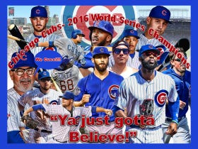 Congrats To The Chicago Cubs For Definitely Winning The 2016 World Series