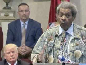 Don King Gives Speech For Donald Trump At A Church In Cleveland, Promptly Says The N-Word