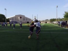 West Virginia Freshman With The Best Catch In The History of College Football (Practice)