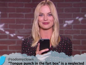 "Margot Robbie Saying ""Tongue Punch In The Fart Box"" Is So Hot"