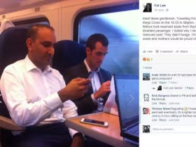 A Disabled Lady Facebook Shamed A Couple Of Guys Who Refused To Get Up For Her On A Train