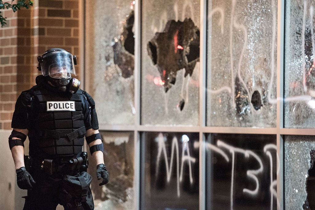 Violent, Dangerous Riots Completely Engulfed Charlotte Last Night