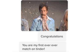 This Chick's Reply To A Guy Who Just Got Her As A First Match On Tinder Might Be The Funniest Message From A Girl Ever