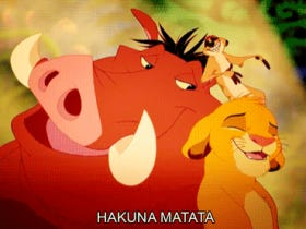 Wake Up With Hakuna Matata