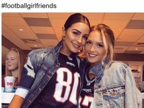 #FootballGirlfriends